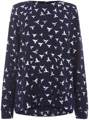 Oasis Hummingbird Foil Sweat Top