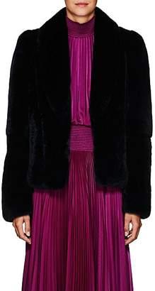 A.L.C. Women's Dean Rabbit Fur Coat - Navy