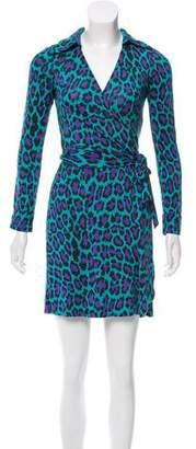 Diane von Furstenberg New Jeanne Silk Dress