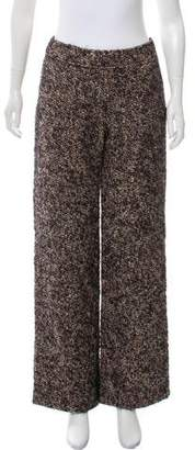 Burberry Wide-Leg Wool Pants