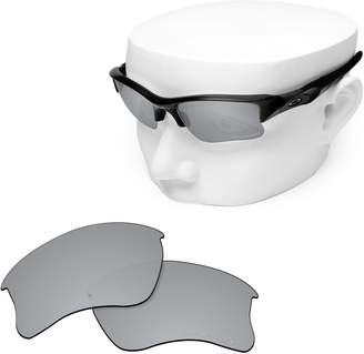 20627ab42be Oakley OOWLIT Replacement Sunglass Lenses for Flak Jacket XLJ Titanium  Mirror Polarized