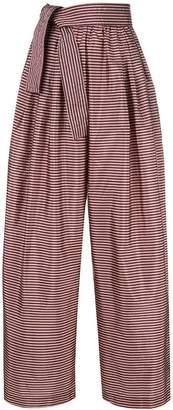 Tome striped palazzo pants