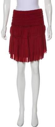 Isabel Marant Pleated Knee-Length Skirt