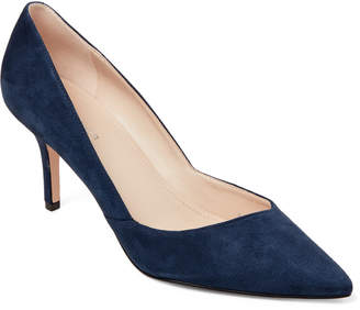 Marc Fisher Dark Blue Tuscany Pointed Toe Pumps