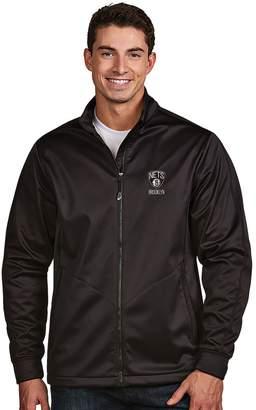 Antigua Men's Brooklyn Nets Golf Jacket