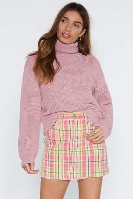Nasty Gal Ready to Roll Turtleneck Sweater