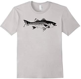 Striper Fishing Shirt // Striped Bass Lucky Fishing T-Shirt