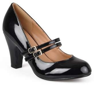 Co Brinley Women's Medium and Wide Width Mary Jane Patent Leather Pumps