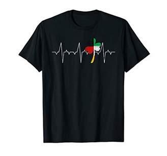 Irish Heartbeat Shamrock St Patricks Day Germany Flag Shirt