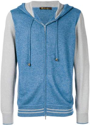 Loro Piana bomber style hoodie