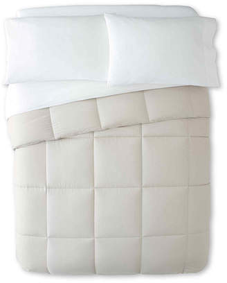 JCPenney ALLIED HOME Home Boucl Down-Alternative Comforter