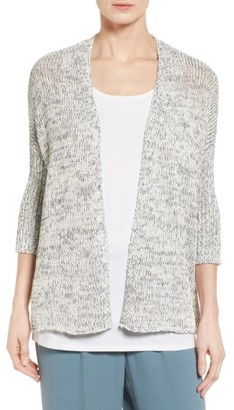 Women's Eileen Fisher Boxy Cardigan $298 thestylecure.com