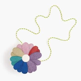 J.Crew Girls' glitter flower bag