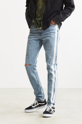 BDG X Urban Renewal Side Stripe Painted Skinny Jean $99 thestylecure.com