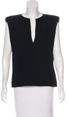 Barbara Bui Structured Short Sleeve Top