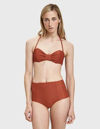 The Ones Who Heather High-Waisted Swim Bottom