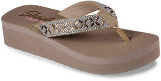 Skechers Cali Vinyasa Wedge Flip Flop - Women's