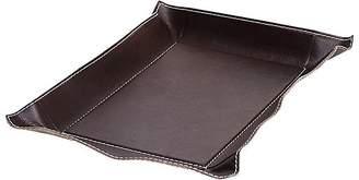 Arte & Cuoio Medium Rectangular Leather Tray