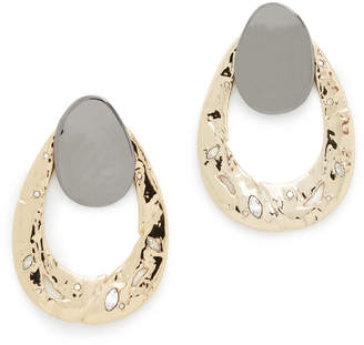 Alexis Bittar Open Hammered Earrings
