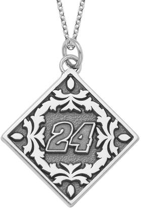"Insignia Collection NASCAR Jeff Gordon ""24"" Stainless Steel Pendant Necklace"