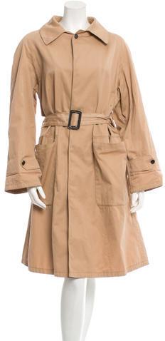 Balenciaga Balenciaga Lightweight Trench Jacket