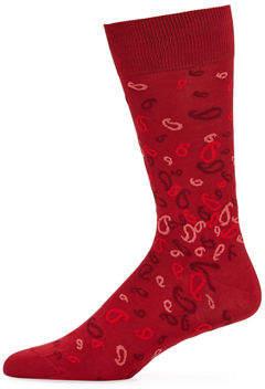 Bugatchi Men's Paisley Socks