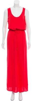 MICHAEL Michael Kors Sleeveless Silk Maxi Dress