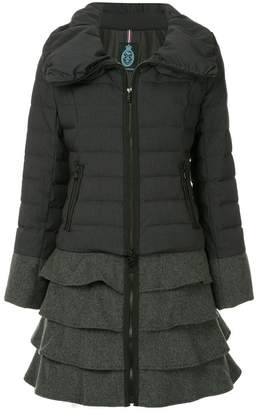 GUILD PRIME ruffled padded coat
