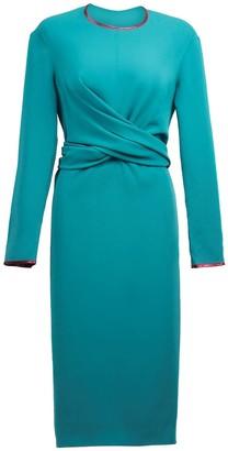 Anna Etter Bennett Emerald Dress