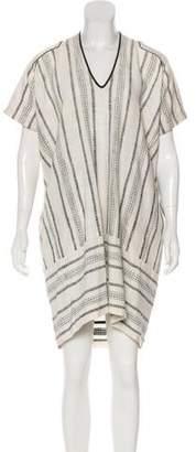 Zero Maria Cornejo Short Sleeve Knee-Length Dress