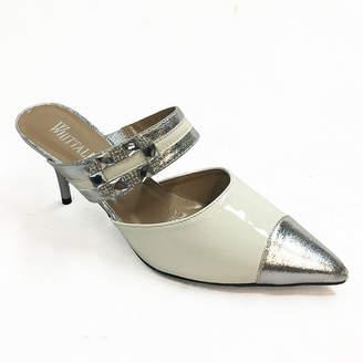 Whittall & Shon Womens Paris Mules Slip-on Pointed Toe