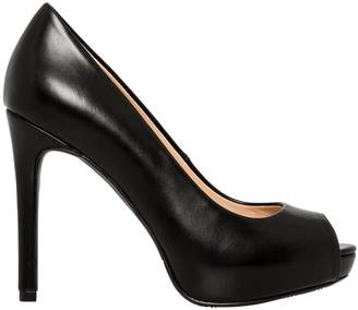 Le Château Women's High Heel Peep Toe Platform Pump