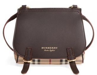 Burberry Bridle Shoulder Bag - Brown $795 thestylecure.com