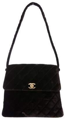 Chanel Velvet Flap Bag