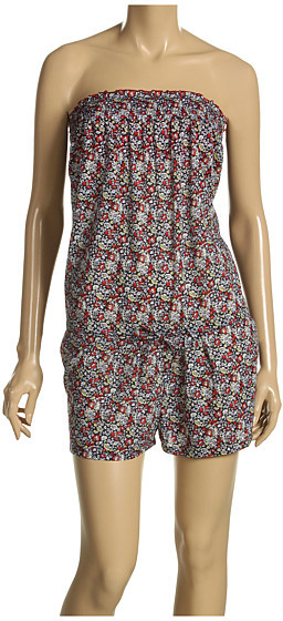 Juicy Couture Felicity Floral Smocked Romper