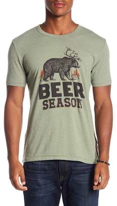 Lucky Brand Beer Season Tee