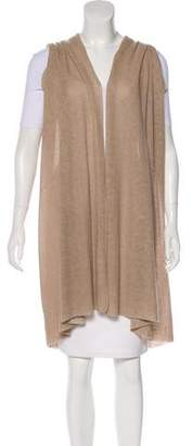 Donna Karan Cashmere Longline Vest