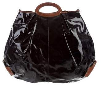 Marni Patent Leather Oversize Satchel