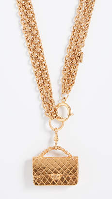 Chanel What Goes Around Comes Around Flapbag Necklace