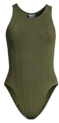 Hunza G Women's Iris Rib-Knit One-Piece Swimsuit