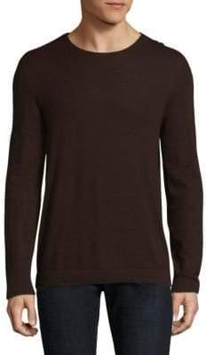 John Varvatos Crew Cashmere Sweater