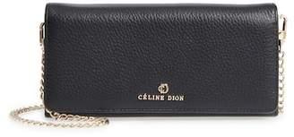 Celine Dion Adagio Leather Crossbody Wallet