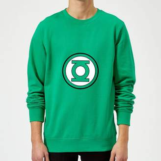 Justice League Green Lantern Logo Sweatshirt