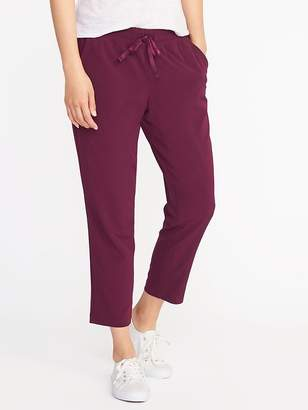 Old Navy Mid-Rise Semi-Fitted All-Day Pants for Women