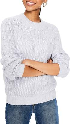 Boden Kendal Popcorn Stitch Cotton Wool Blend Sweater