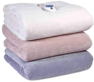 SoftHeat Safe and Warm MacroMink Low Voltage Heated Electric Blanket