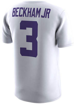 Nike Men's Odell Beckham Jr. Lsu Tigers Name and Number T-Shirt