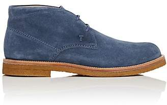 Tod's MEN'S SUEDE CHUKKA BOOTS
