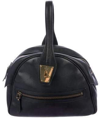 Gucci Leather Dome Satchel