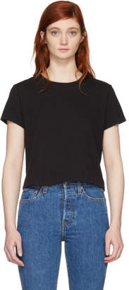 RE/DONE Black Hanes Edition 1950s Boxy T-Shirt